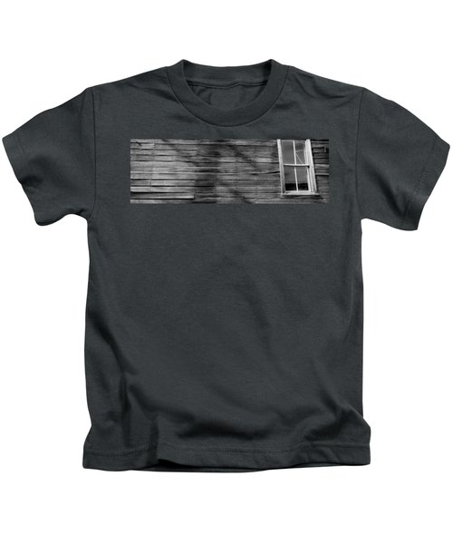 Low Angle View Of The Window Of A Log Kids T-Shirt