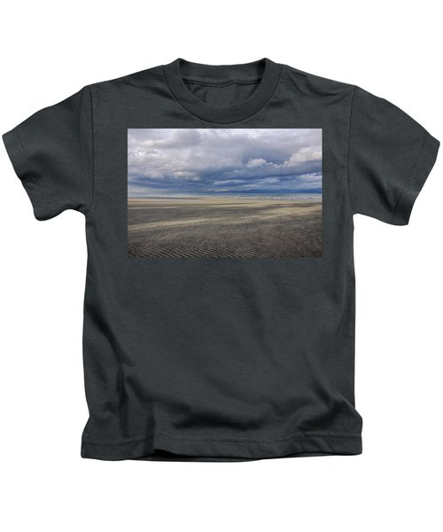 Low Tide Sandscape Kids T-Shirt