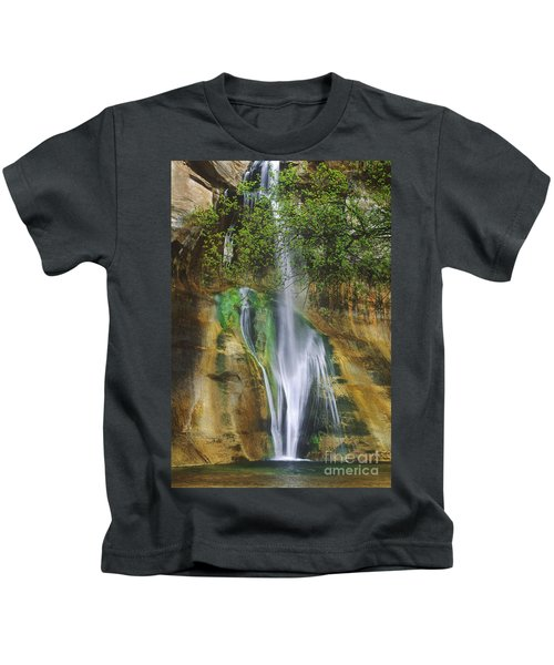 Lower Calf Creek Falls Escalante Grand Staircase National Monument Utah Kids T-Shirt