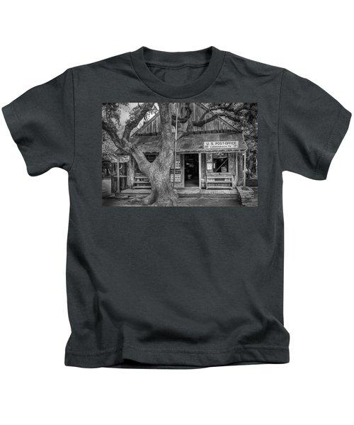 Luckenbach 2 Black And White Kids T-Shirt