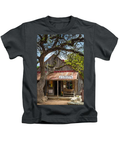 Luckenbach Post Office Kids T-Shirt