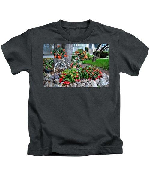 Mackinac Island Garden Kids T-Shirt