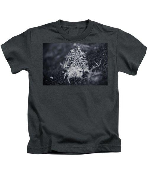 Macro Snowflake Kids T-Shirt