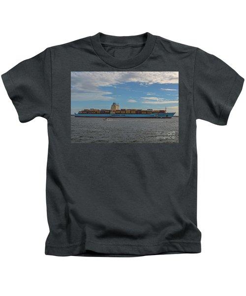 Ocean Going Freighter Kids T-Shirt