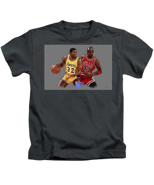 Magic And Michael Kids T-Shirt