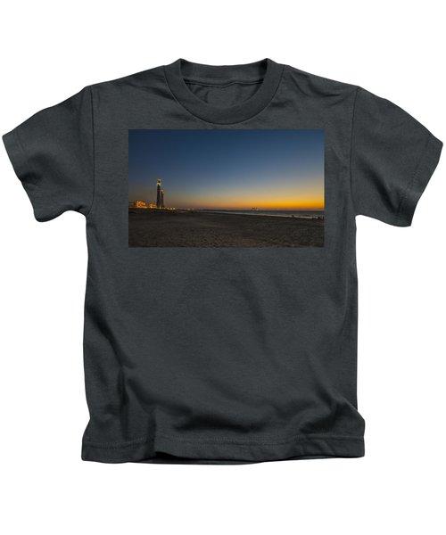 magical sunset moments at Caesarea  Kids T-Shirt