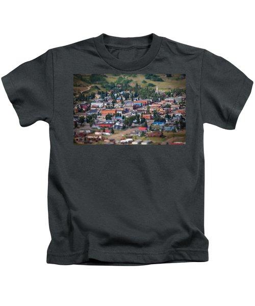 Main Street Silverton Colorado Kids T-Shirt