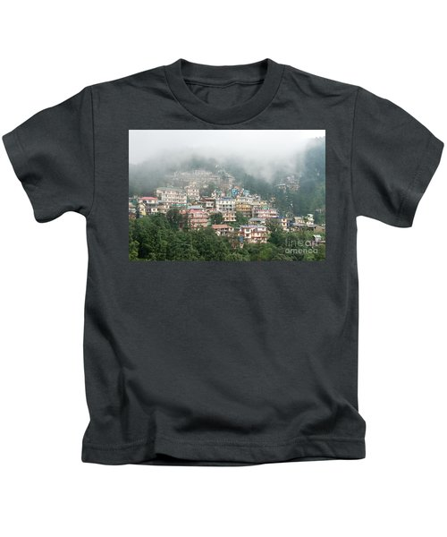 Maleod Ganj Of Dharamsala Kids T-Shirt