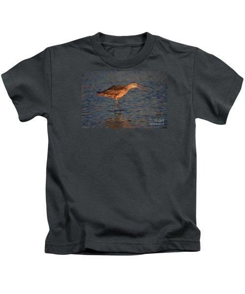 Marbled Godwit Call Kids T-Shirt