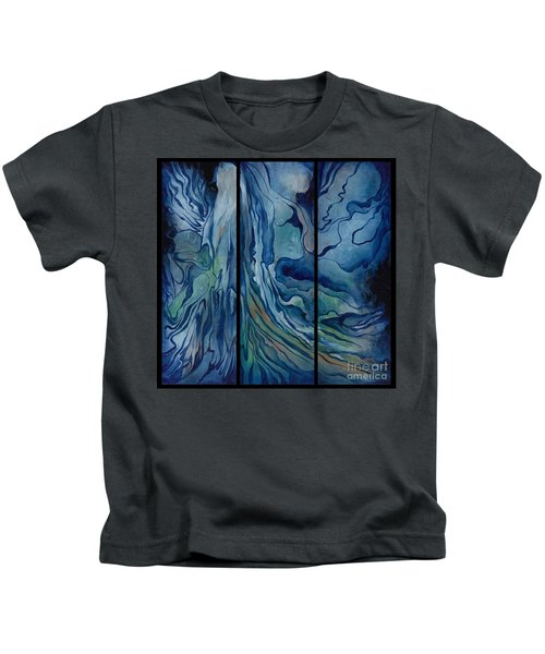 Marina Triptych Kids T-Shirt