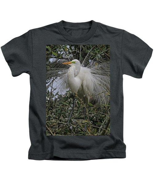 Mating Plumage Kids T-Shirt
