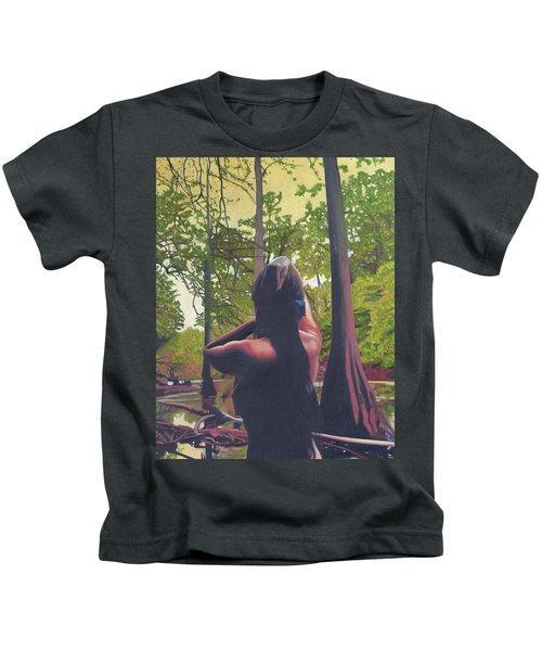 May Morning Arkansas River 5 Kids T-Shirt