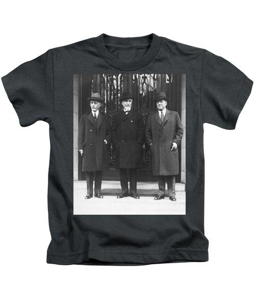Mellon, Norman, And Meyer Kids T-Shirt