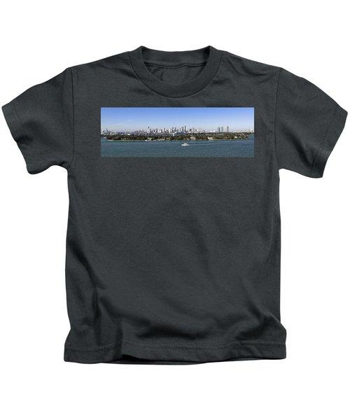 Miami Daytime Panorama Kids T-Shirt