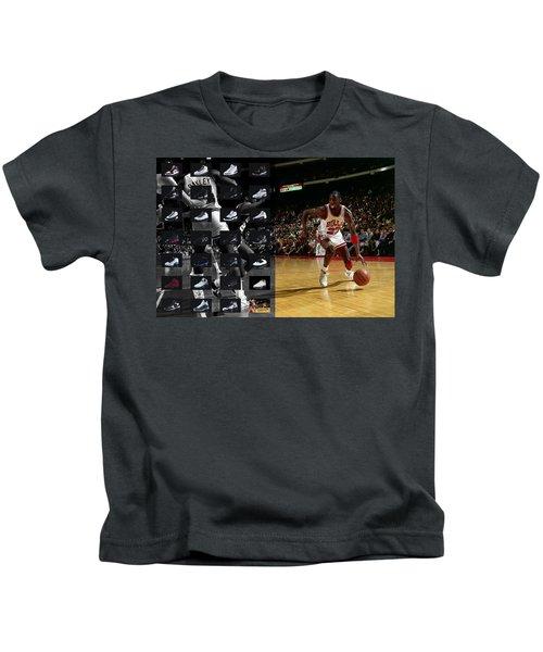 Michael Jordan Shoes Kids T-Shirt