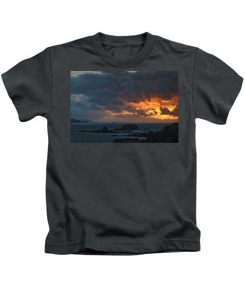 Mirandas Islands Galicia Spain Kids T-Shirt