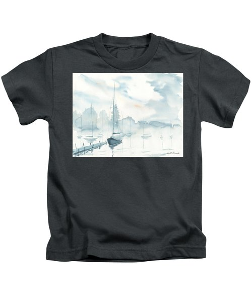 Misty Morning Kids T-Shirt