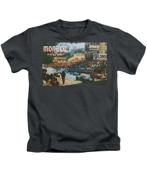 Monaco 1969 Kids T-Shirt