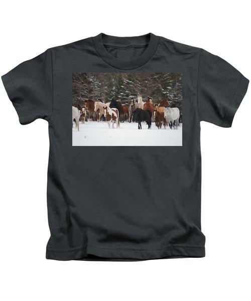 Montana Herd Kids T-Shirt