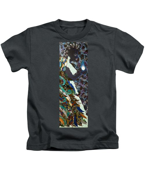 Moon Guardian - The Keeper Of The Universe Kids T-Shirt