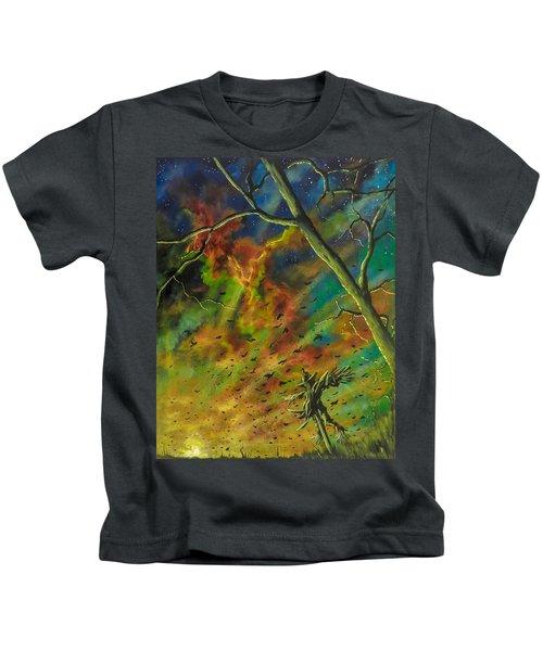 Morning Flight Kids T-Shirt