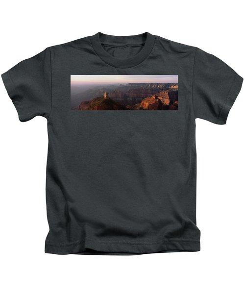 Morning Light On The Grand Canyon Kids T-Shirt