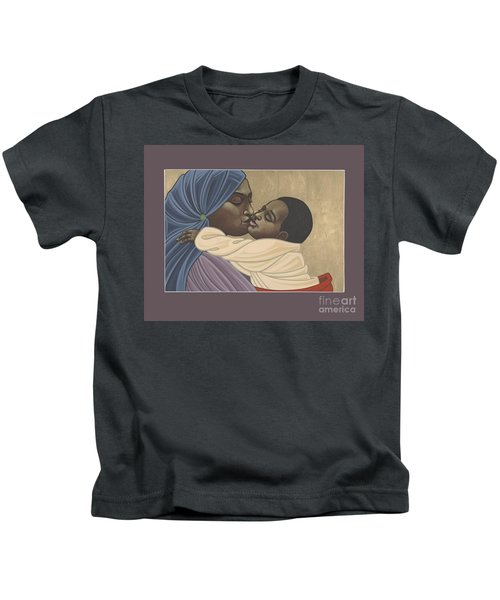 Mother And Child Of Kibeho 211 Kids T-Shirt