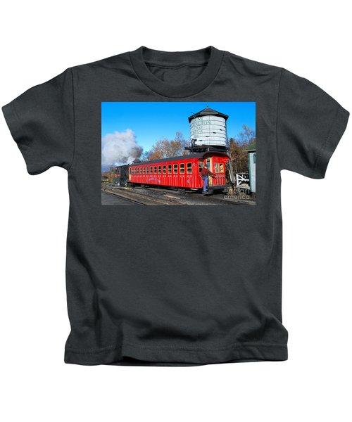 Mount Washington Cog Railway Car 6 Kids T-Shirt
