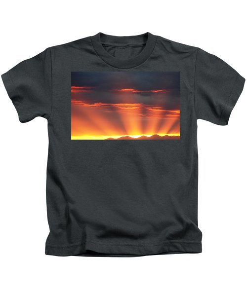 Mountain Rays Kids T-Shirt