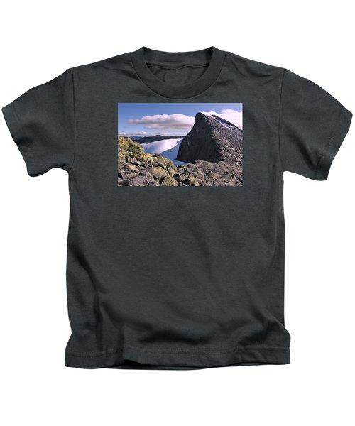 Mountain Summit Ridge Kids T-Shirt