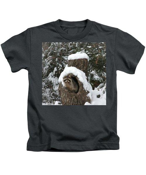 Mr. Raccoon Kids T-Shirt