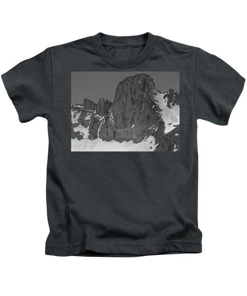 406427-mt. Sill, Bw Kids T-Shirt