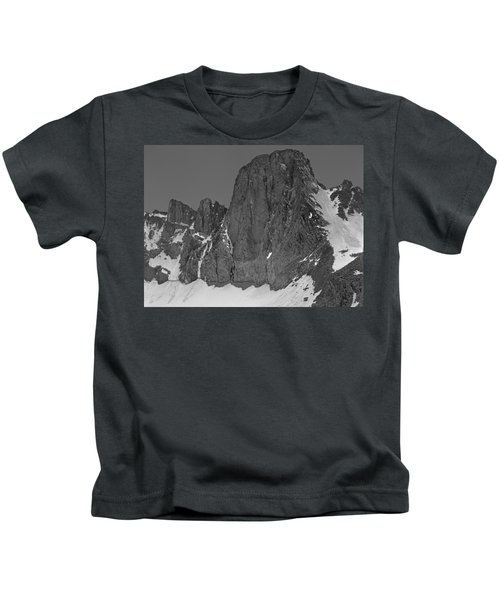 406427-mt. Sill, Bw Kids T-Shirt