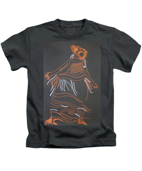 Muganda Lady - Uganda Kids T-Shirt