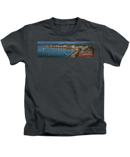 Mugardos Panorama Galicia Spain Kids T-Shirt