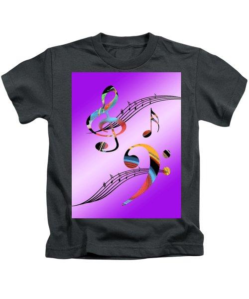 Musical Illusion Kids T-Shirt