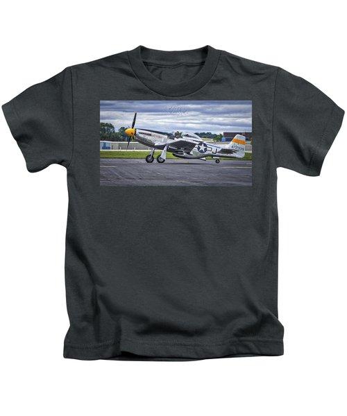 Mustang P51 Kids T-Shirt