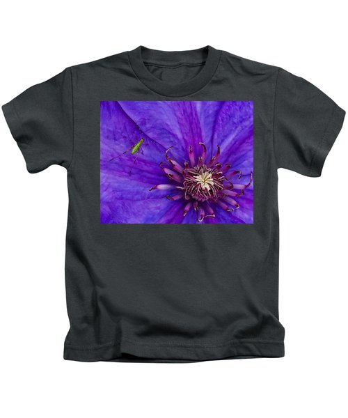 My Old Clematis Home Kids T-Shirt
