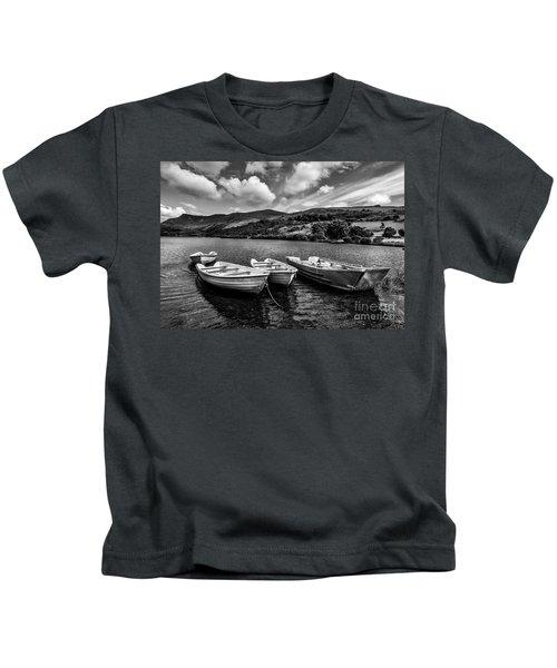Nantlle Uchaf Boats Kids T-Shirt