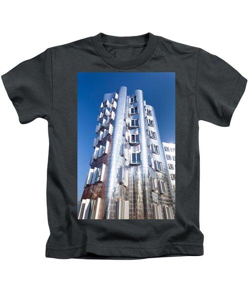 Neuer Zollhof Building Designed Kids T-Shirt