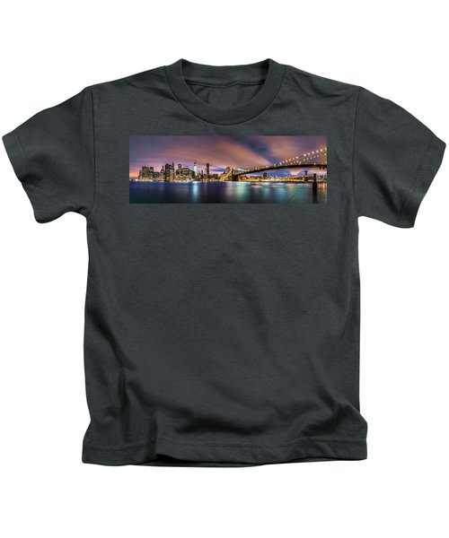 New Dawn Over New York Kids T-Shirt