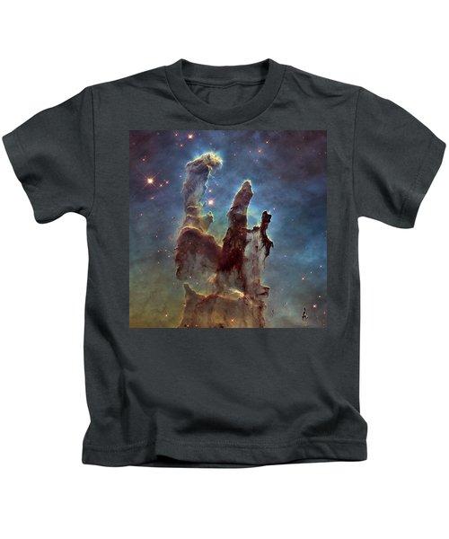 New Pillars Of Creation Hd Square Kids T-Shirt