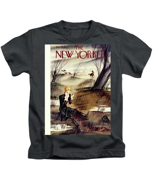New Yorker November 28 1936 Kids T-Shirt