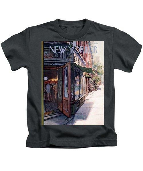 New Yorker September 29th, 1956 Kids T-Shirt