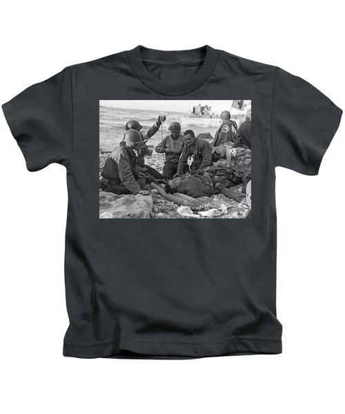 Normandy Invasion Medics Kids T-Shirt