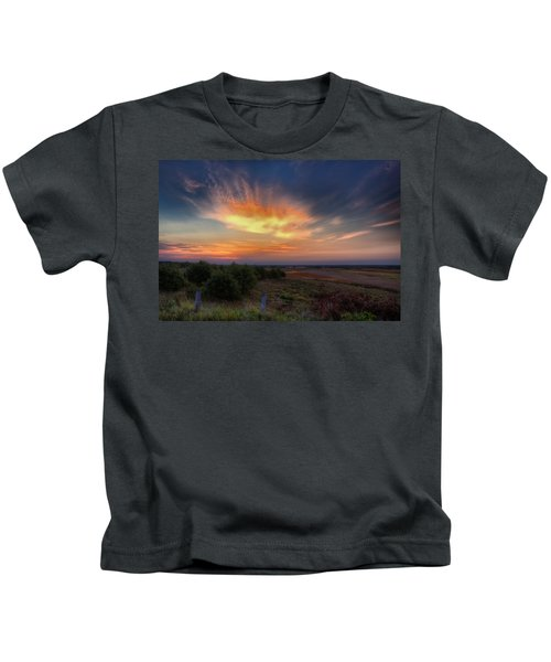 North Refuge Sunrise Kids T-Shirt