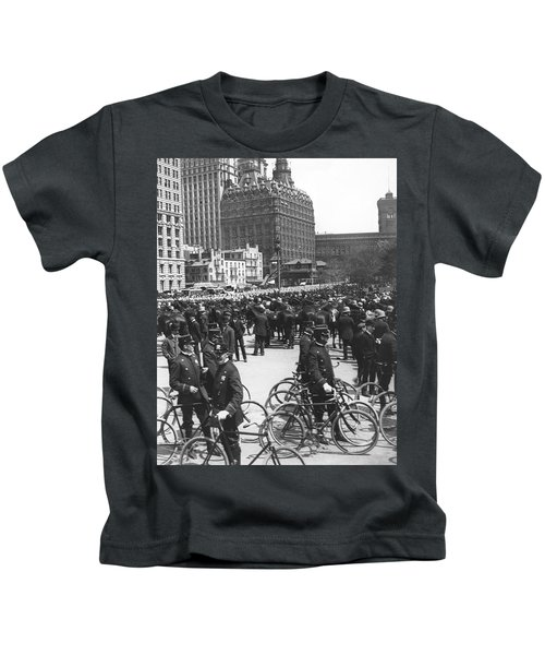 Nypd Bicycle Force Kids T-Shirt