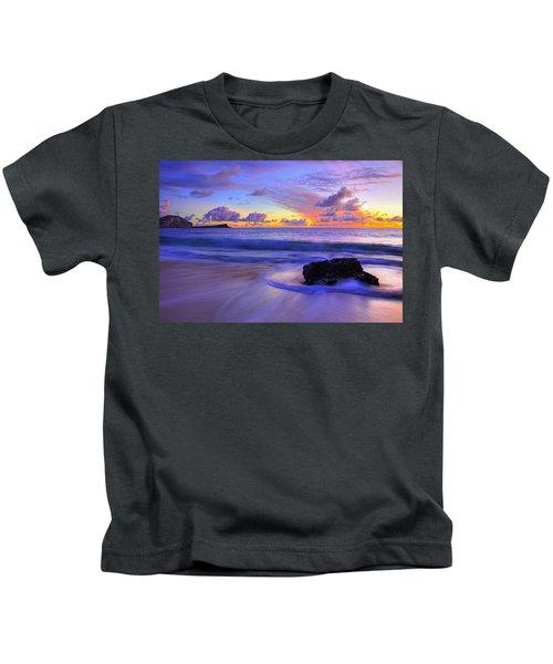 Oahu Sunrise Kids T-Shirt