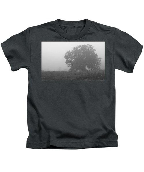 Oak In The Fog Kids T-Shirt