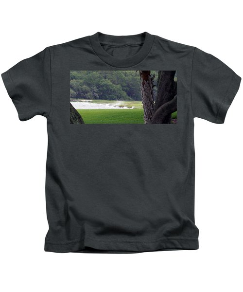 Ocean Spray At Hilton Head Island Kids T-Shirt